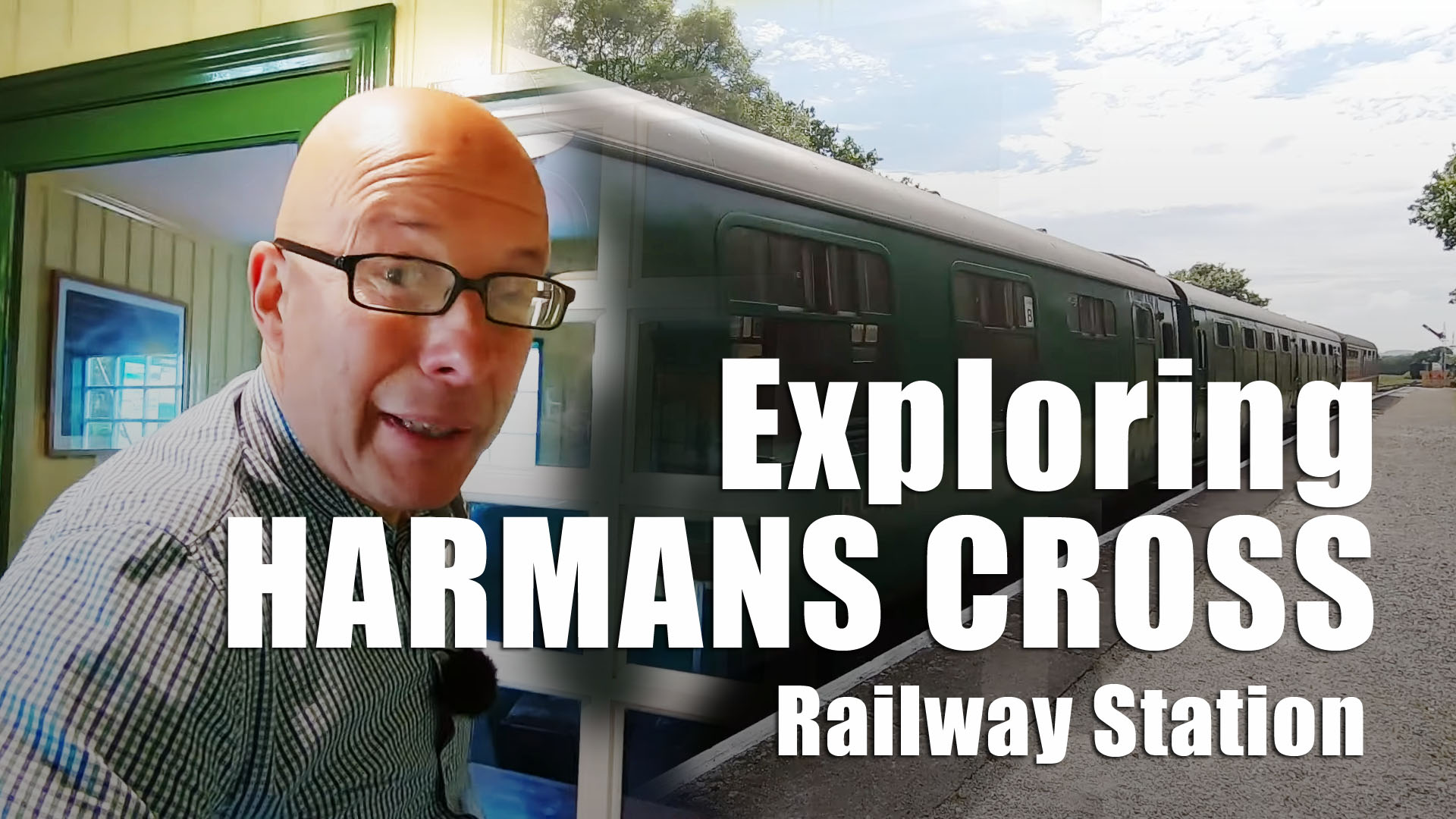 Dorset's Jurassic Coast - Harman's Cross Railway Station Visit
