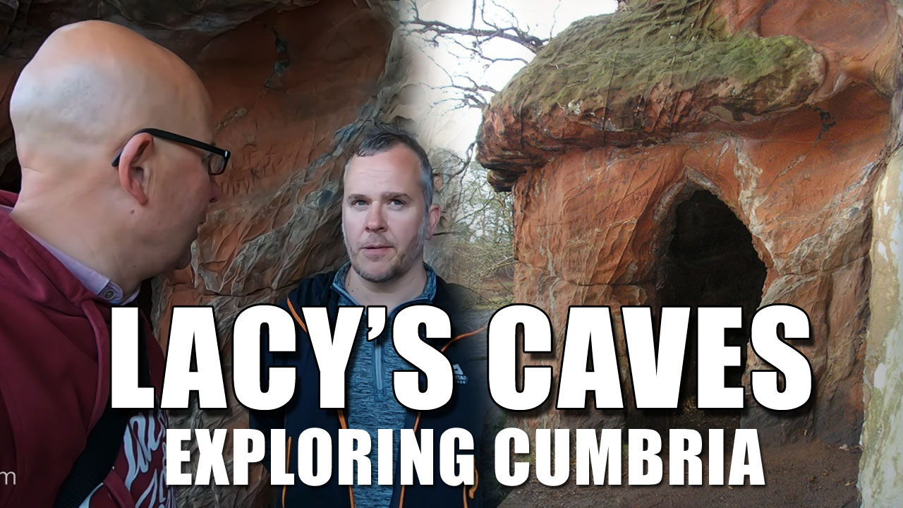 Exploring Cumbria - Lacy's Caves and the Gypsum Mines