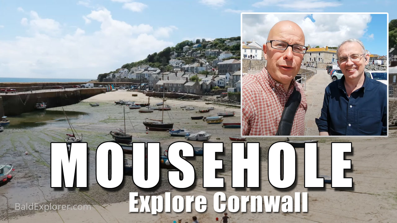 Exploring Cornwall - A walk round Mousehole and it's Harbour