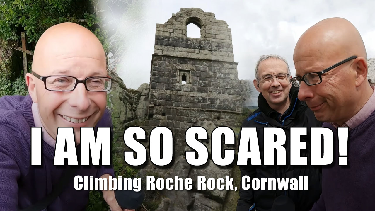 Exploring Cornwall - The Chapel on Roche Rock