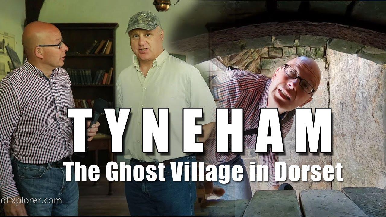 Bald Explorer Goes to Tyneham Village