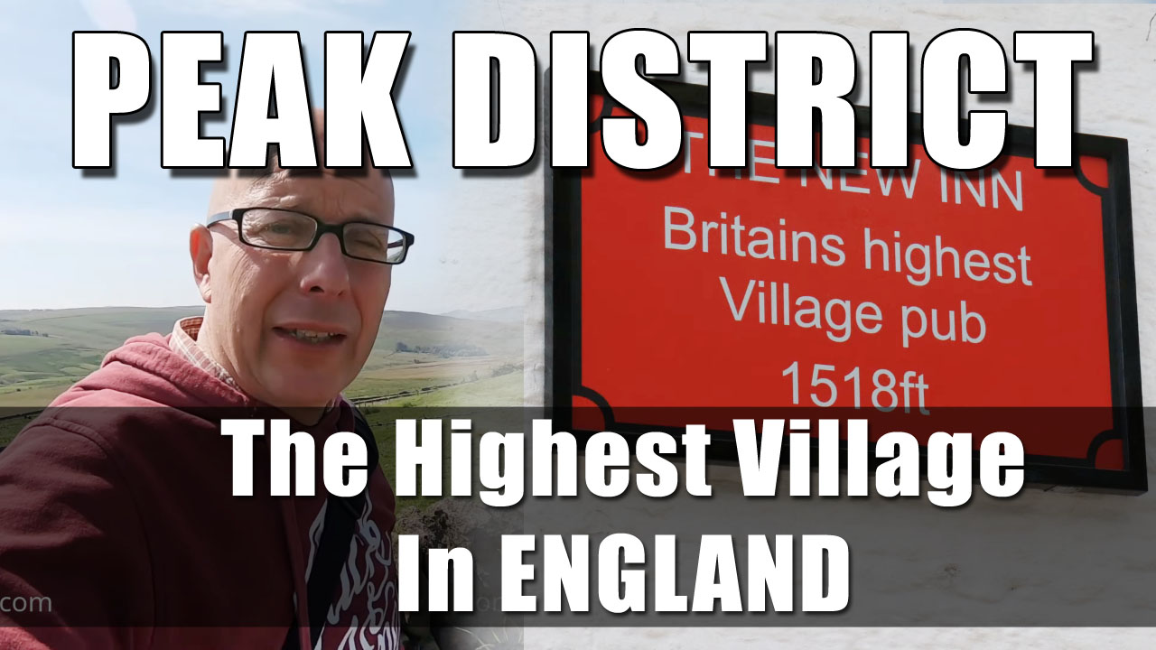 The Peak District - Flash, the highest Village in Great Britian