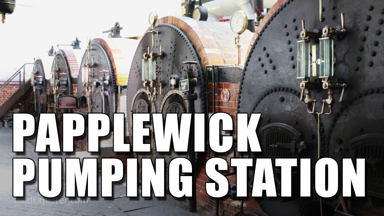 A Look Round The Papplewick Pumping Station