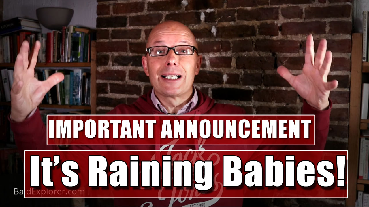 It May Be Raining, But I Have Some Great News!
