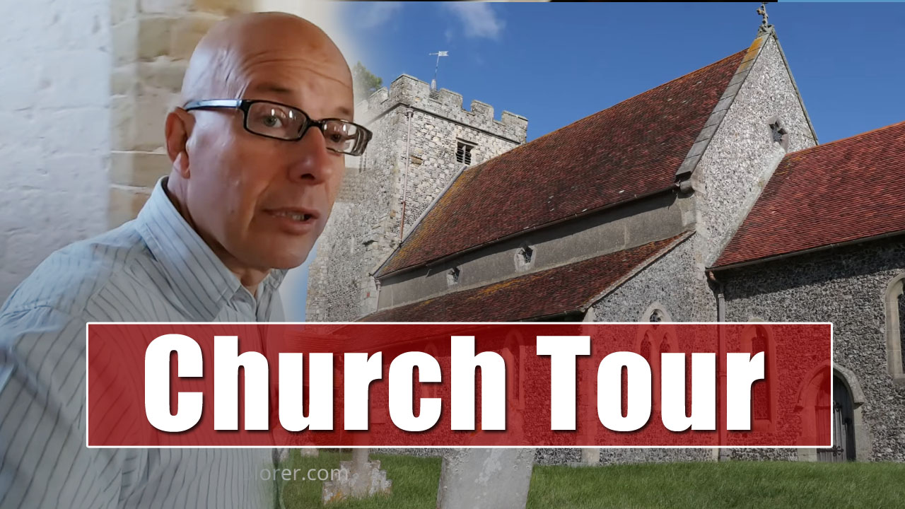 Exploring Churches - St Andrew's in Beddingham, East Sussex
