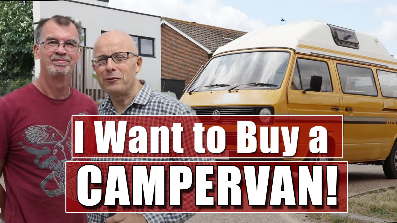 A Tour Round A Campervan - Looking at the T25