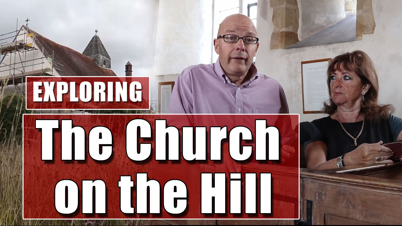A Visit to St Hubert's Church in Idsworth, Hampshire