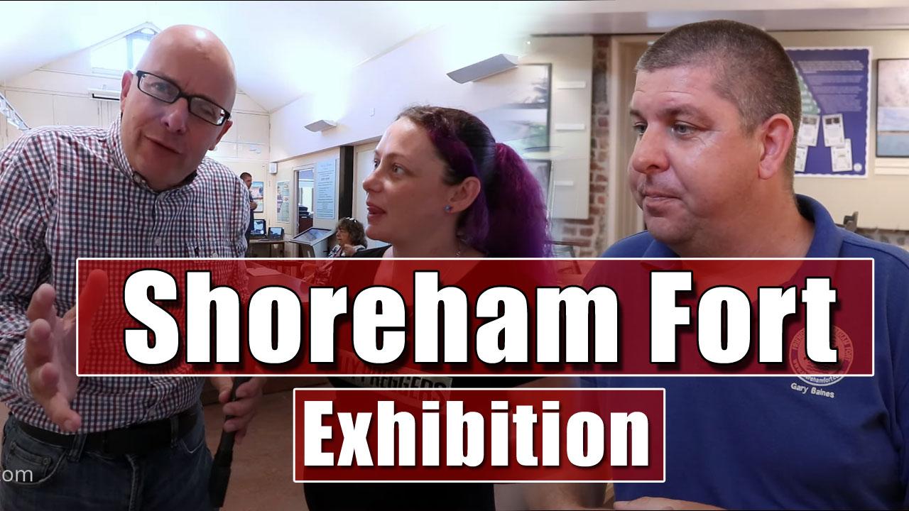 Shoreham Fort Exhibition at the Marlipins in Shoreham