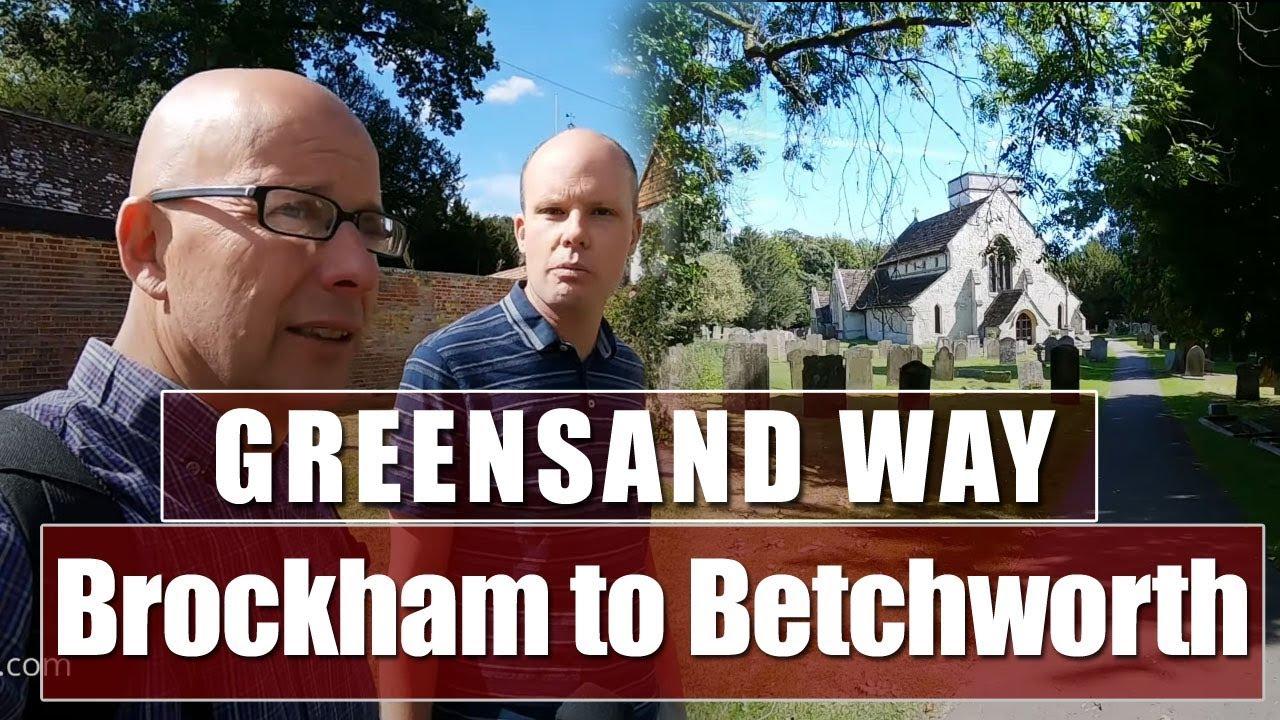 The Greensand Way - Brockham to Betchworth in Surrey