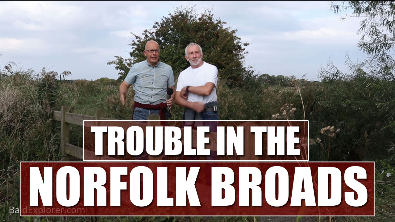 Richard and Kevin are Exploring the Norfolk Broads!