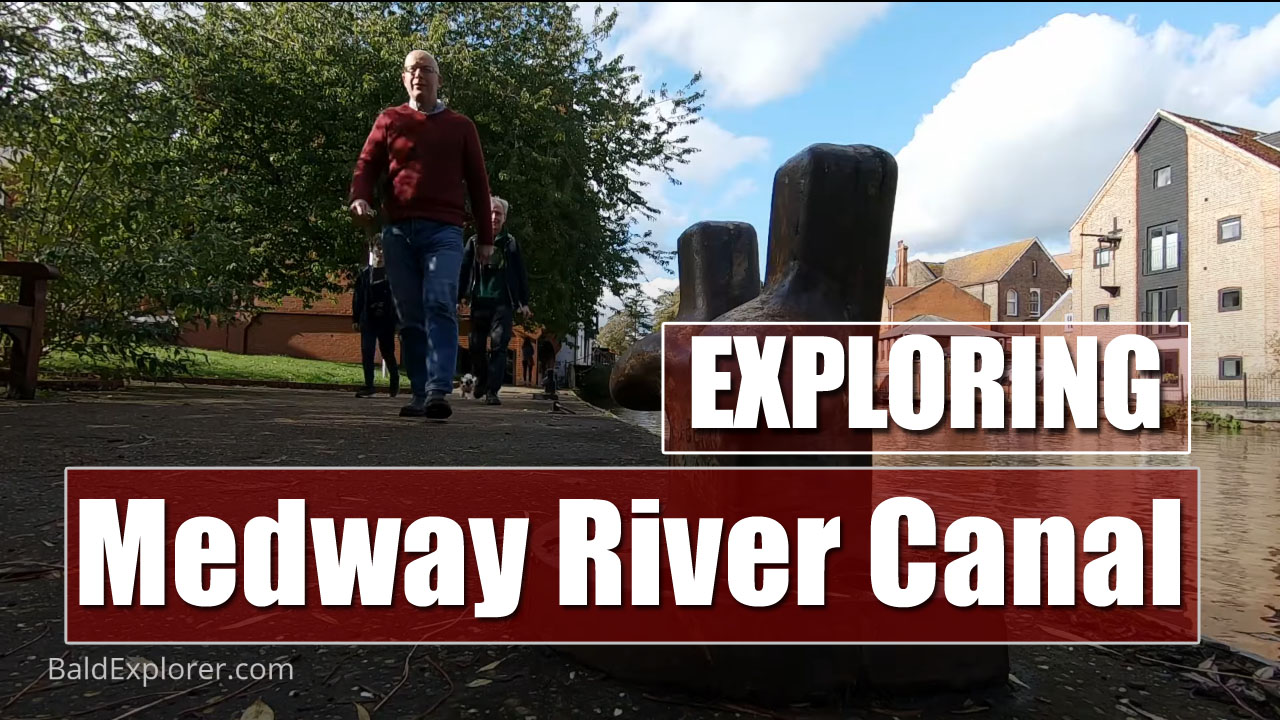 Exploring the River Medway from Tonbridge in Kent