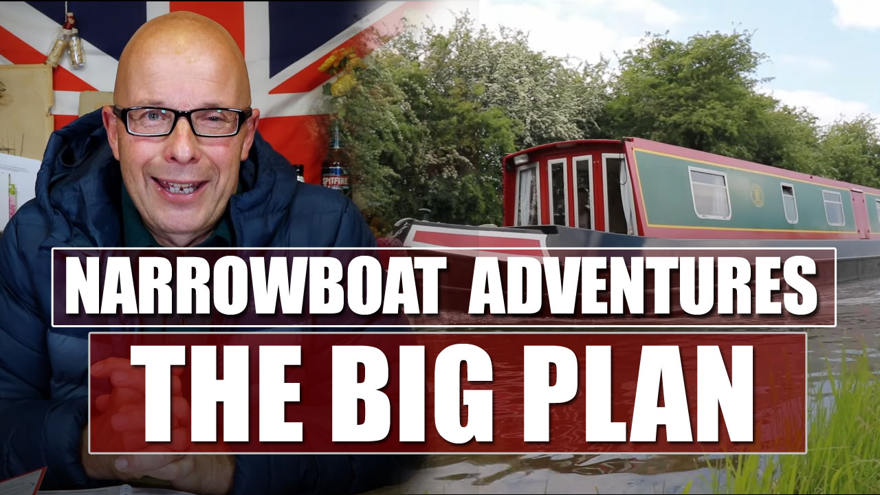 Canal Adventure: We're Off On A Narrowboat!
