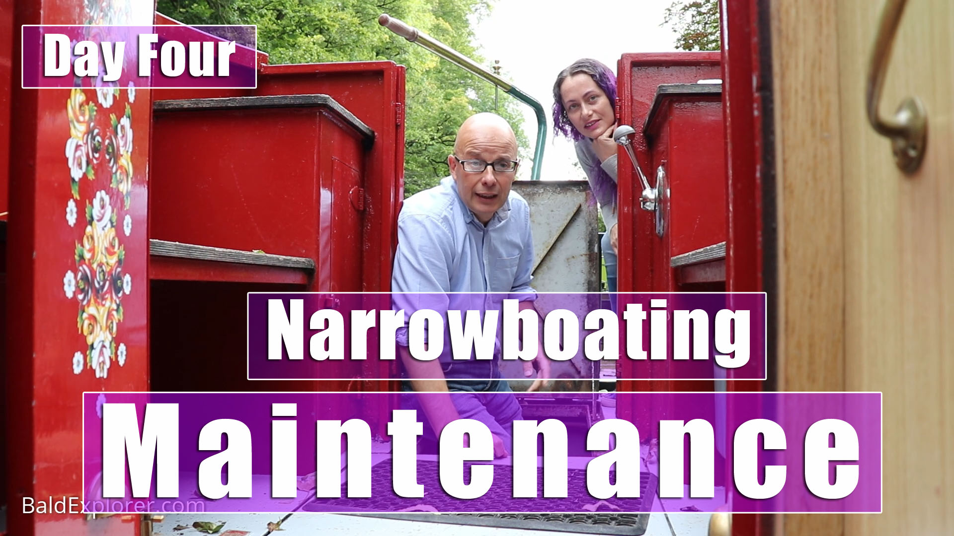 Kennet and Avon Canal - Working on a Narrowboat