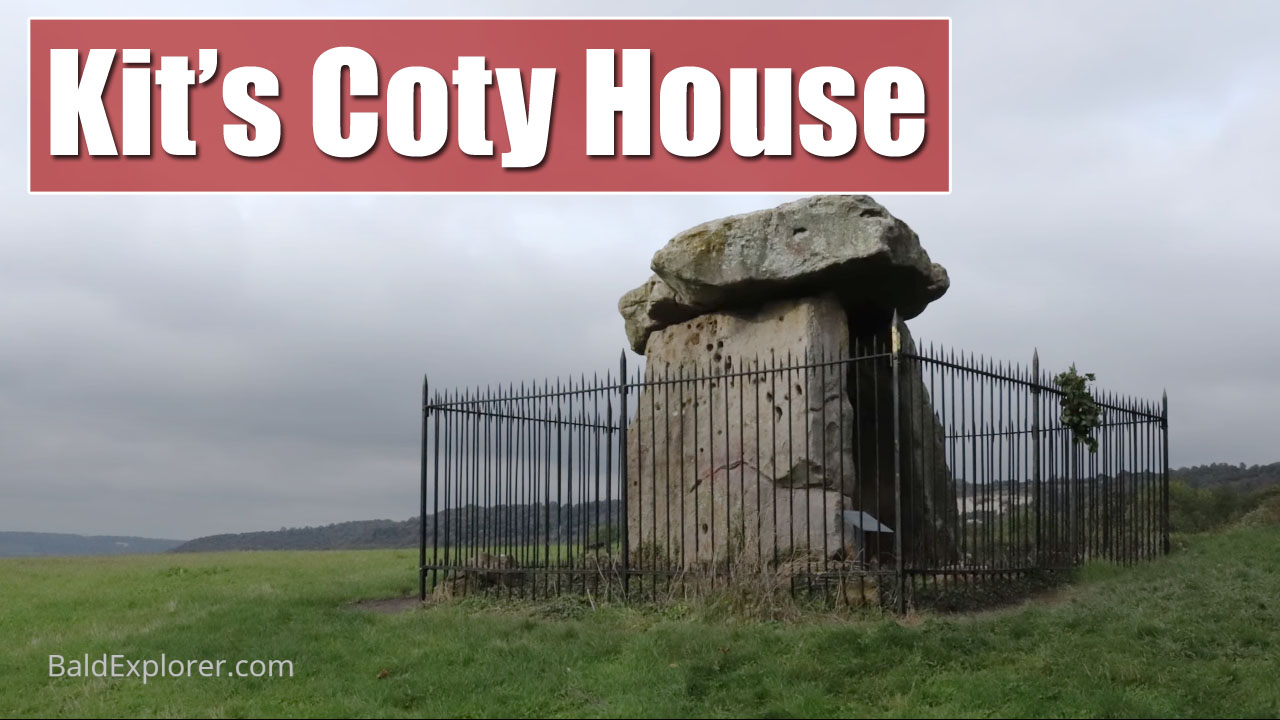 Exploring Kit's Coty House in Kent: Megalithic Tomb