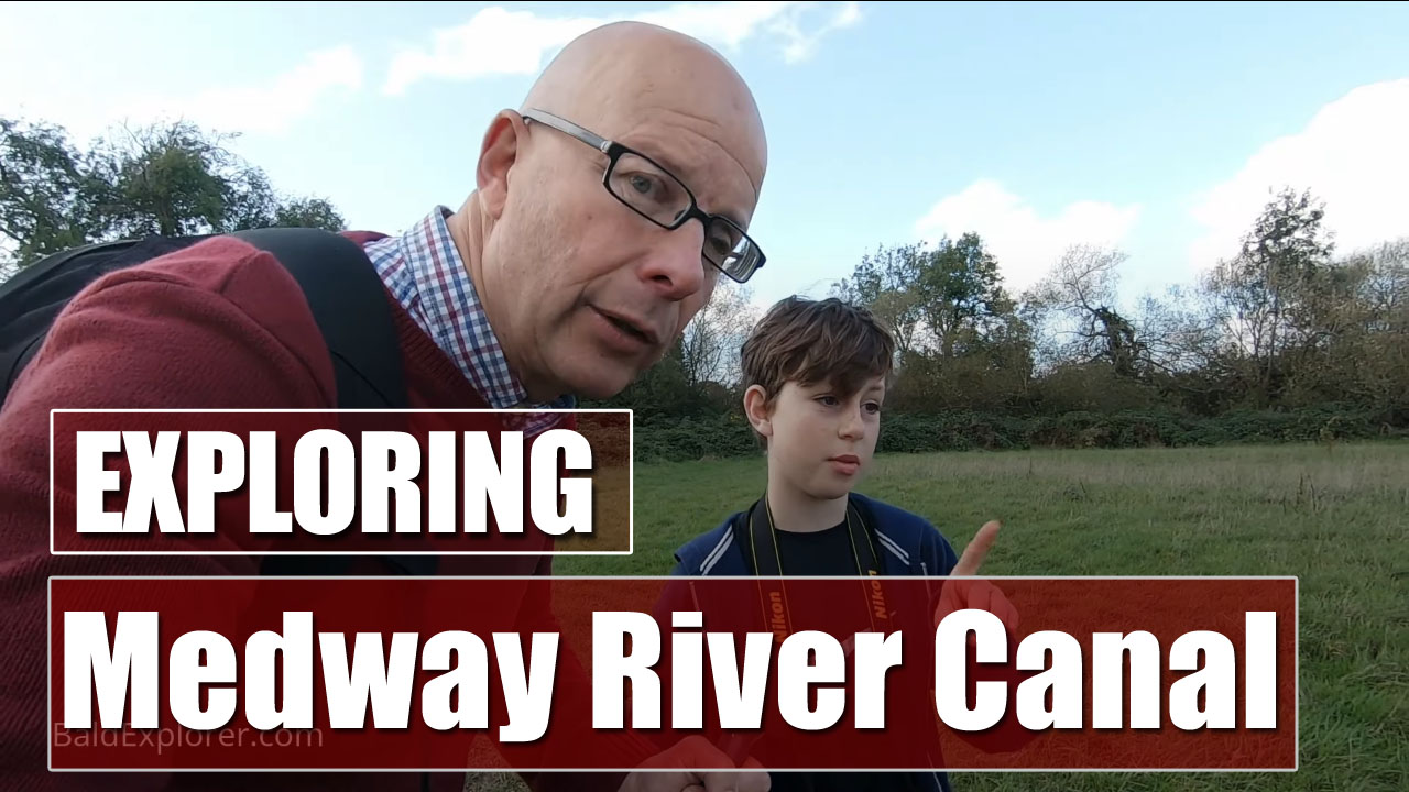 Exploring the River Medway from Tonbridge in Kent - Part Two