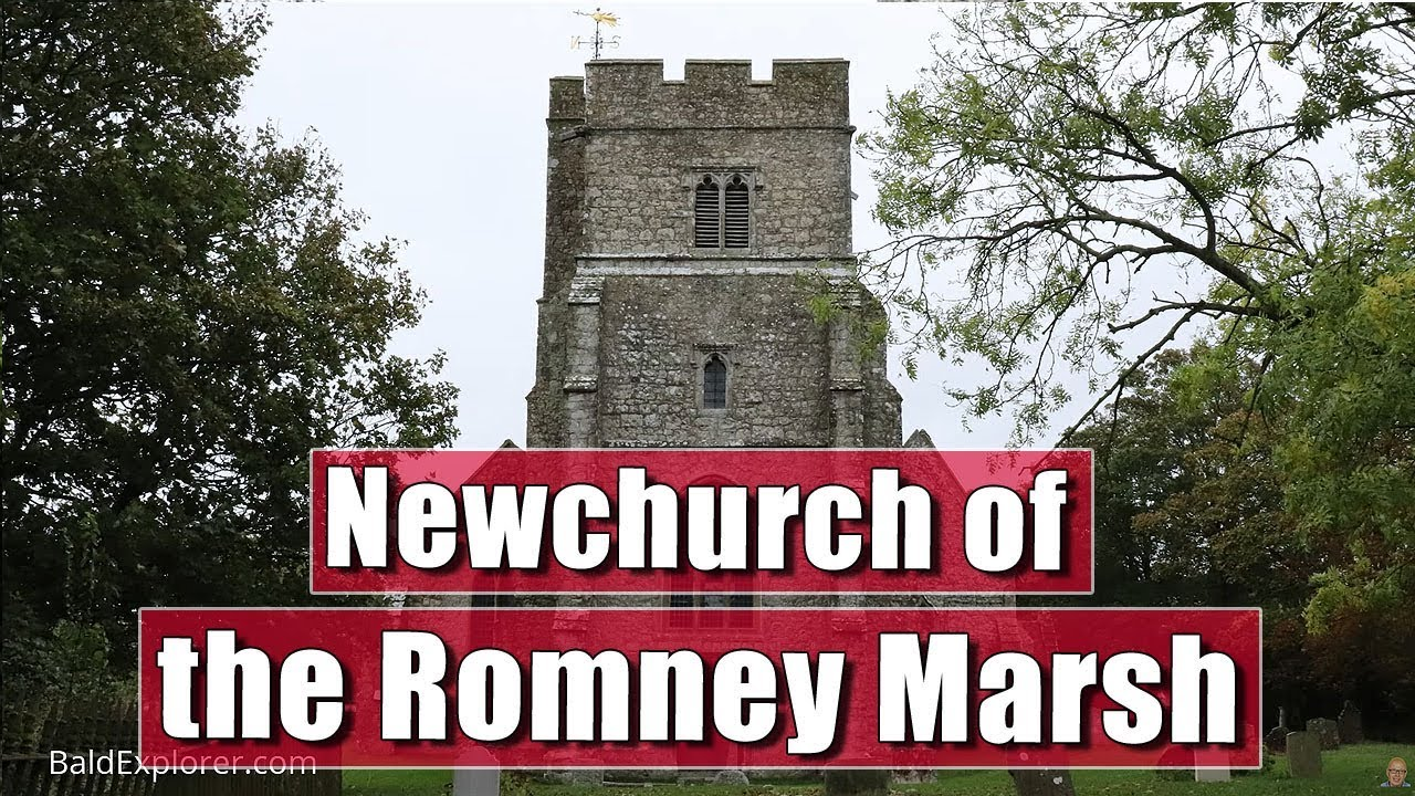 Exploring the Romney Marhes - Newchurch Church