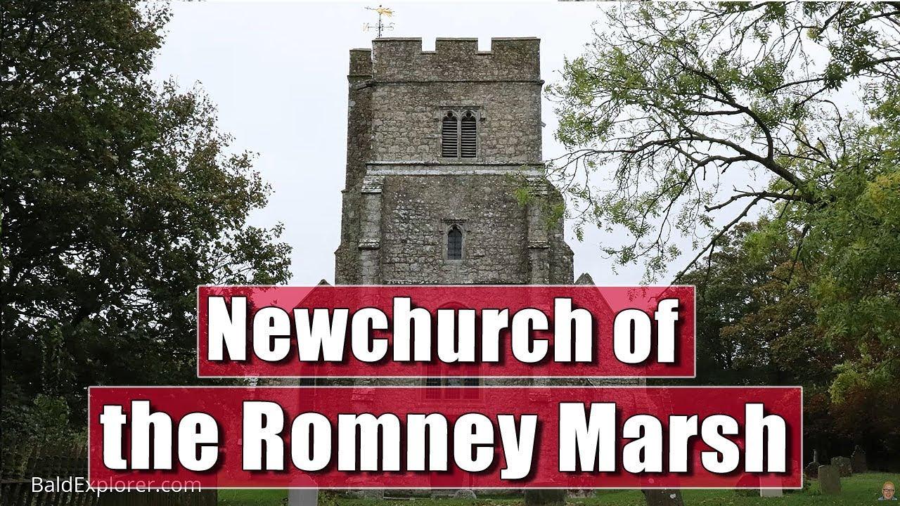 Exploring the Romney Marhes - Newchurch Church