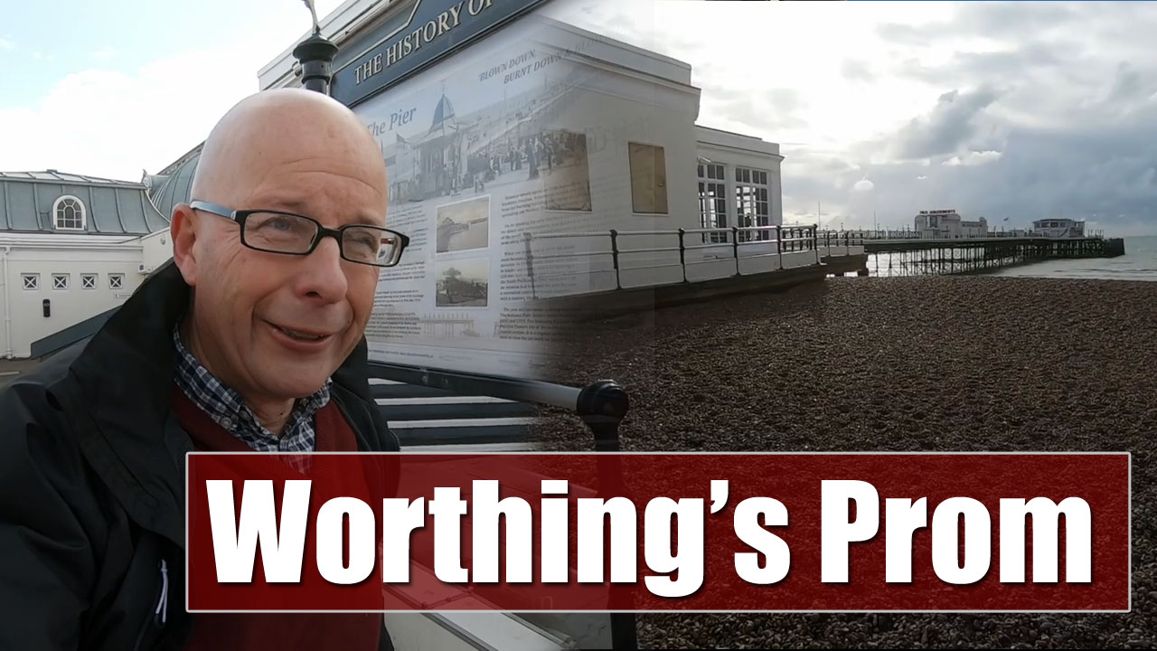 A Look at Worthing's Seaside Promenade