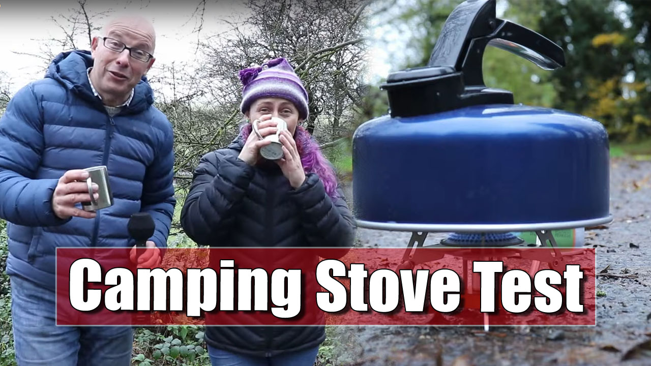 Camping Stoves and Making Hot Drinks in the Countryside