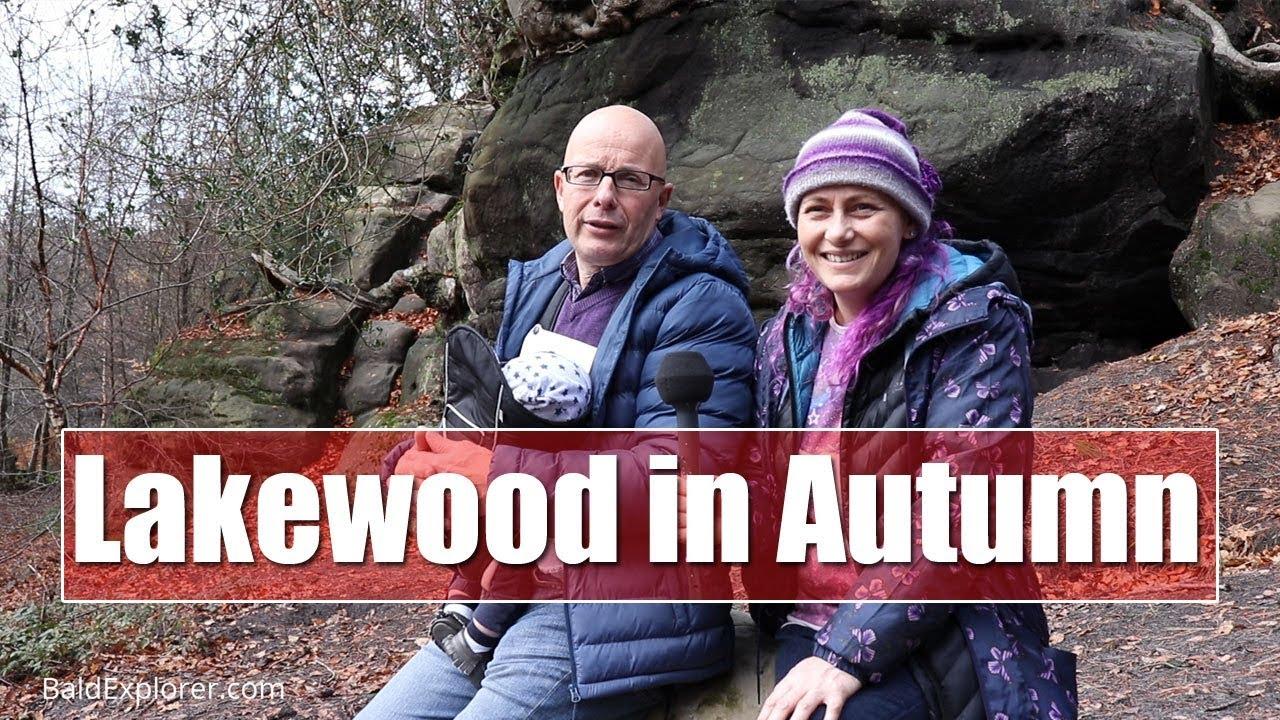 Autumn Walk Around LakeWood near Uckfield, East Sussex.