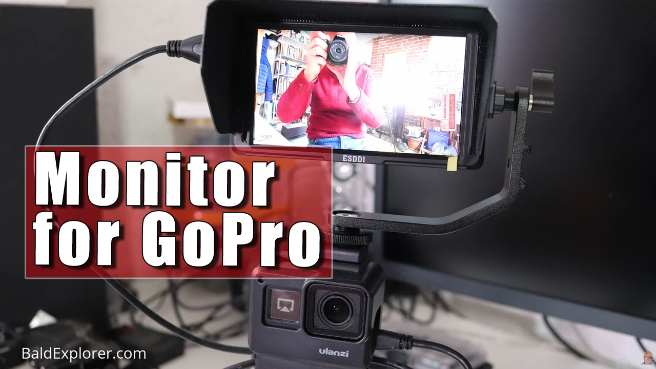 My New Video Monitor For GoPro Camera