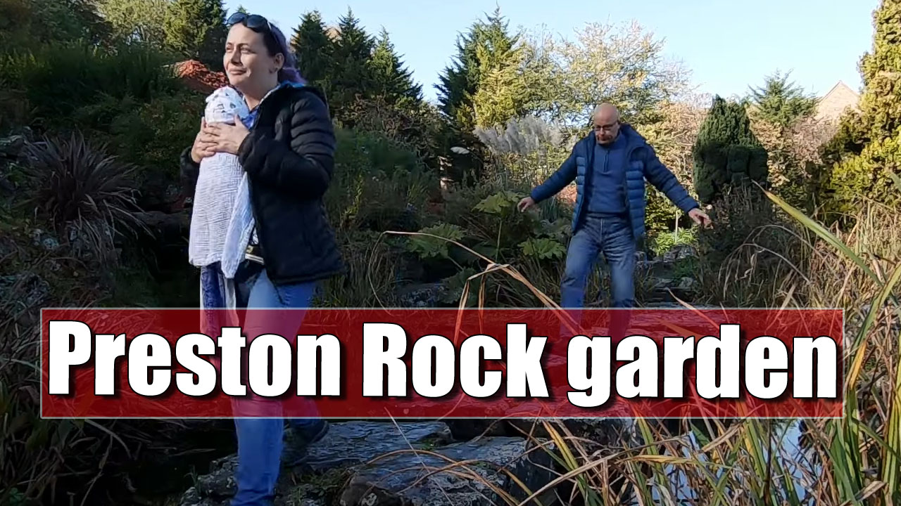 Exploring Preston Rock Garden in Brighton