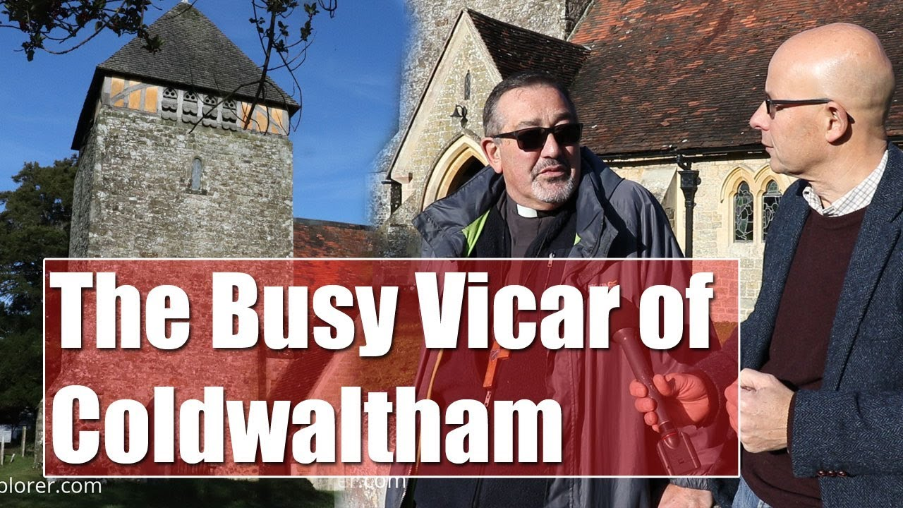 The Busy Vicar of Coldwaltham, near Pulborough, in West Sussex