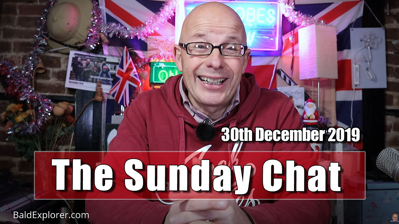 The Sunday Chat - but on Monday!