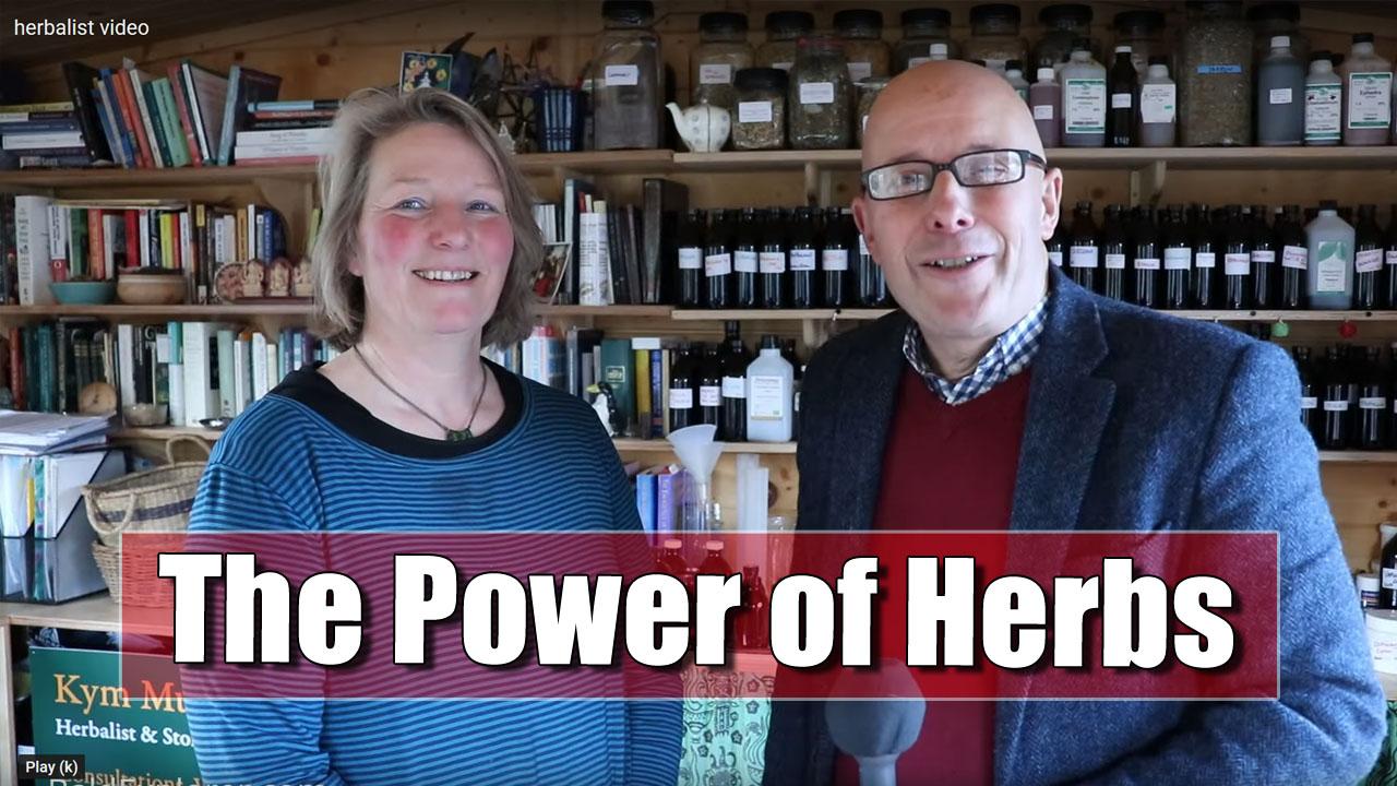 The Bald Explorer Meets Kym Murden, Herbalist.