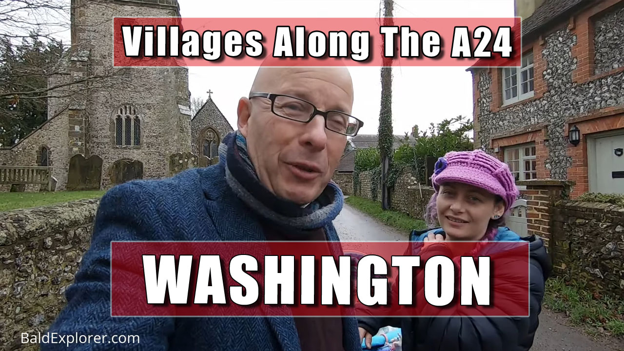 Villages along the A24 - Washington, West Sussex
