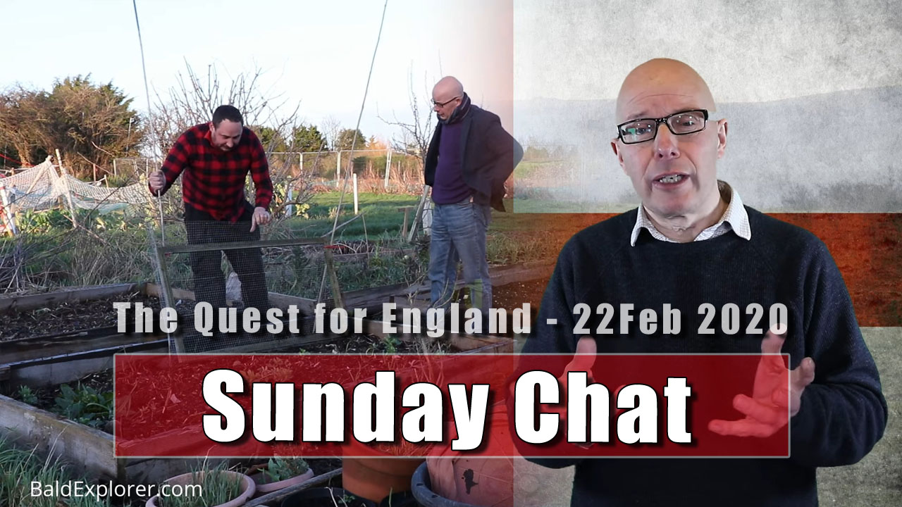 The Quest for England: Sunday Chat - 22nd February 2020