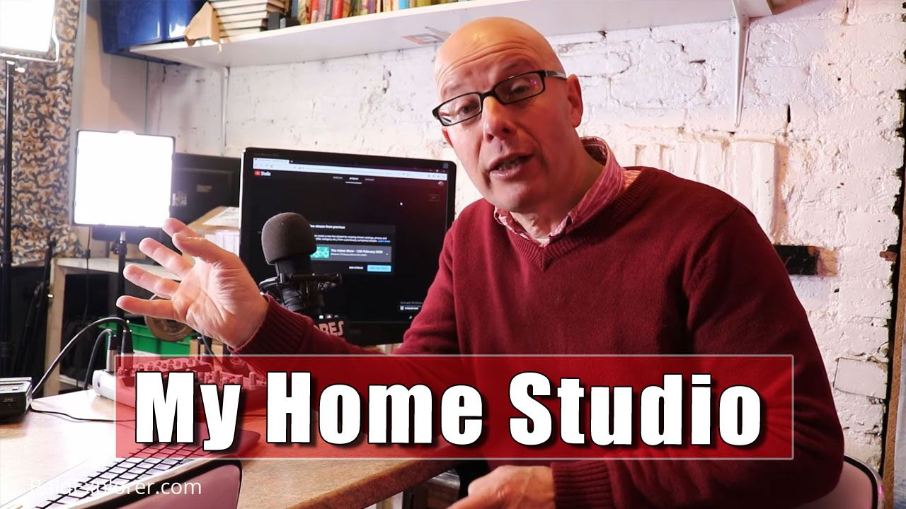 A Tour Around My Live Streaming Studio