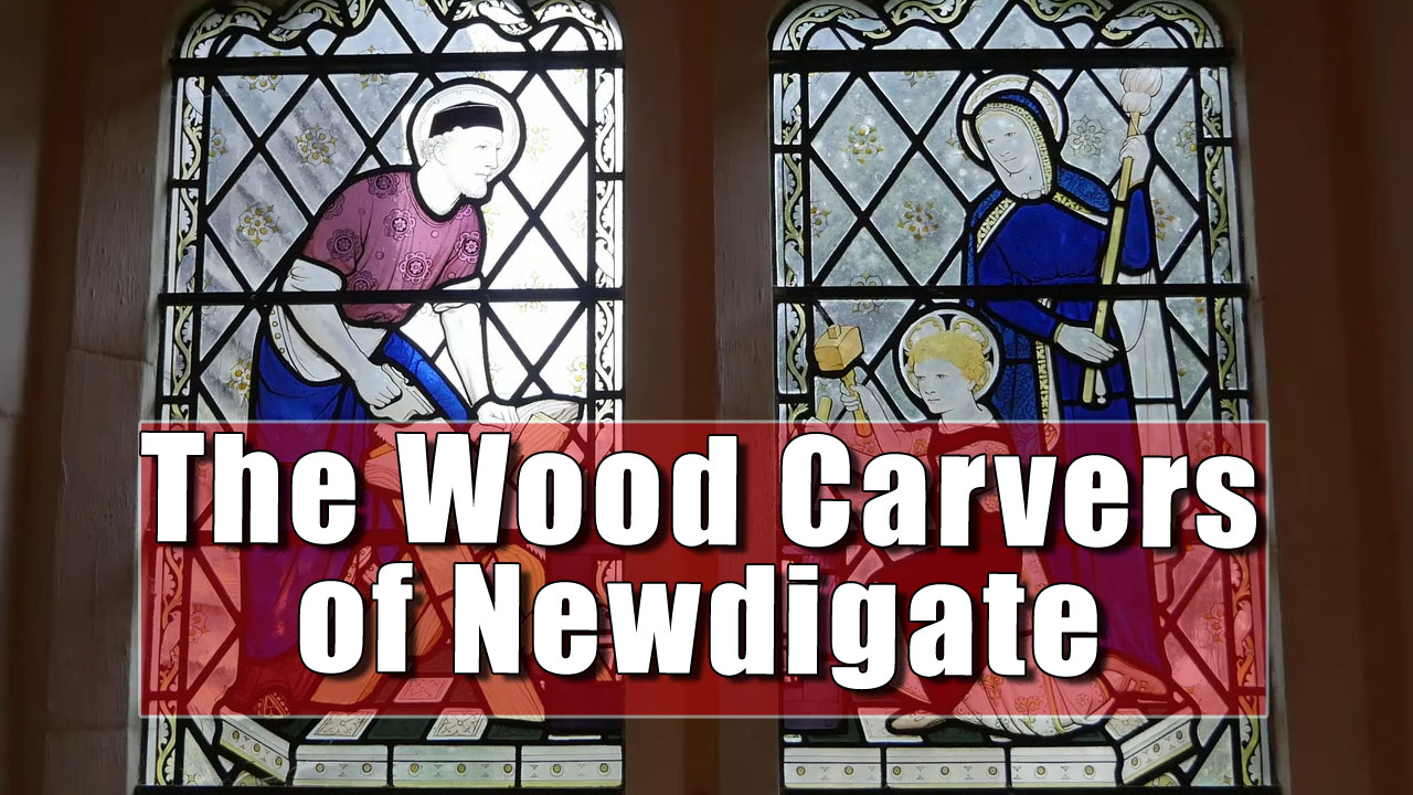 The Amazing Mrs Janson's Wood-Carving Boys of Newigate in Surrey.