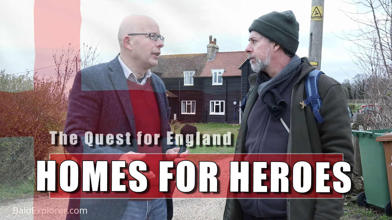 The Quest for England: The Black Houses of Telegraph Track