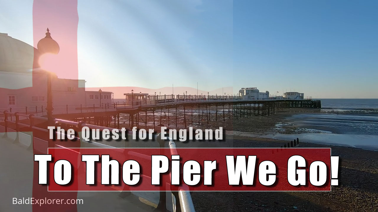 The Quest for England: My 'Allowed' Exercise For The Day