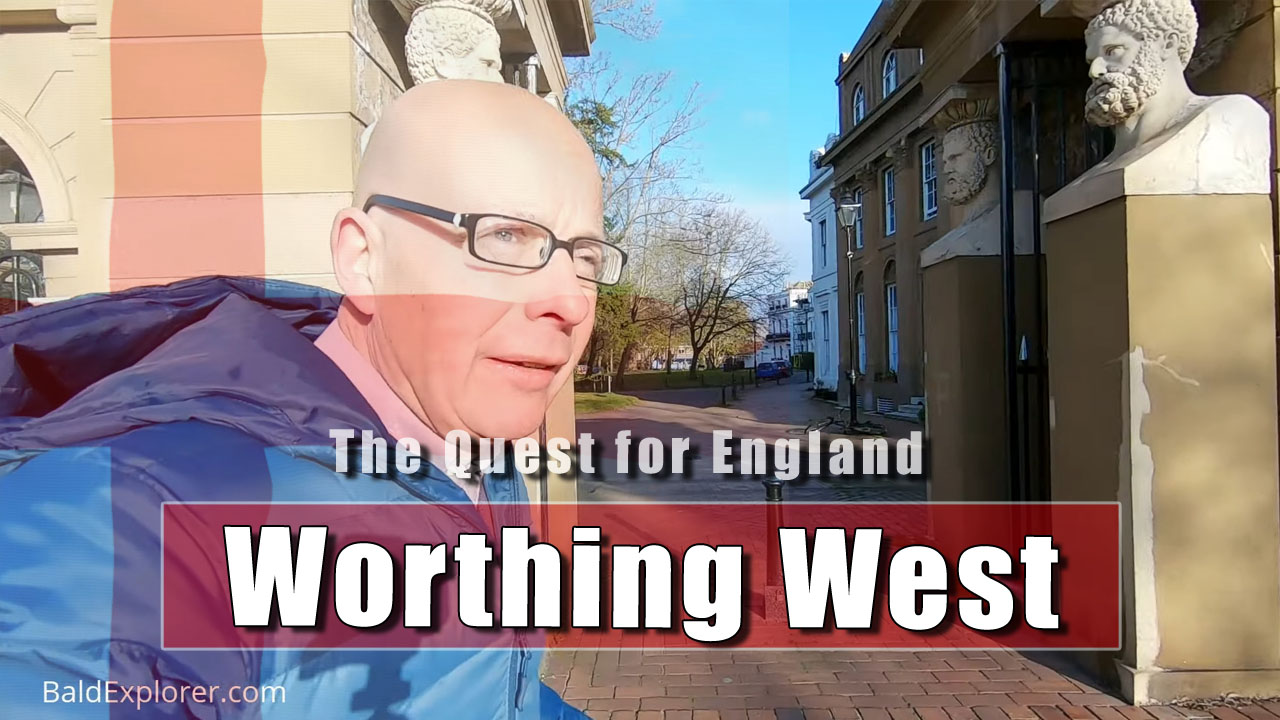 The Quest for England: Walking West in Worthing on a Sunday Morning