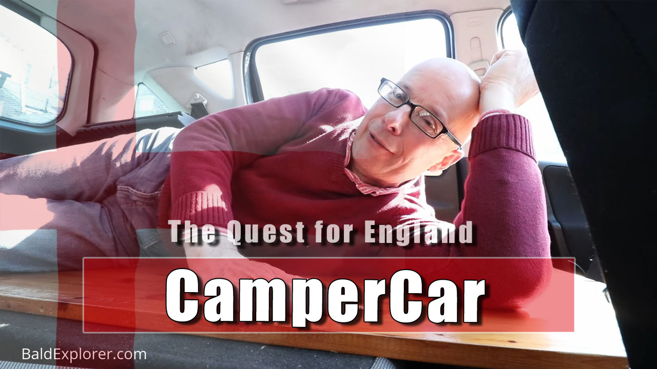 The Quest for England - My New CamperCar