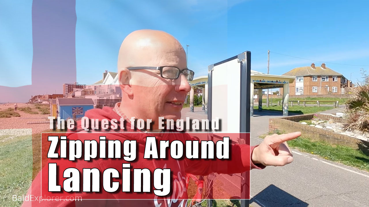 The Quest for England - A Ride Around Lancing