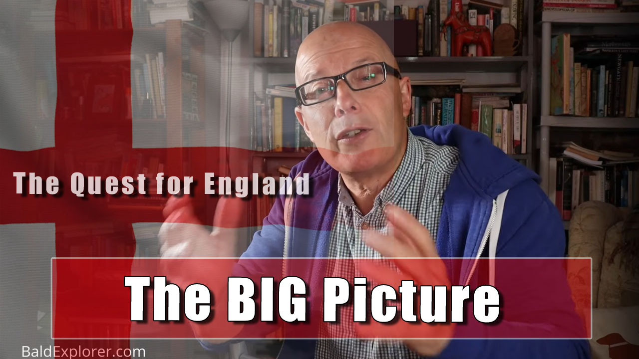 The Quest For England - In Which I Talk About Making Longer Films