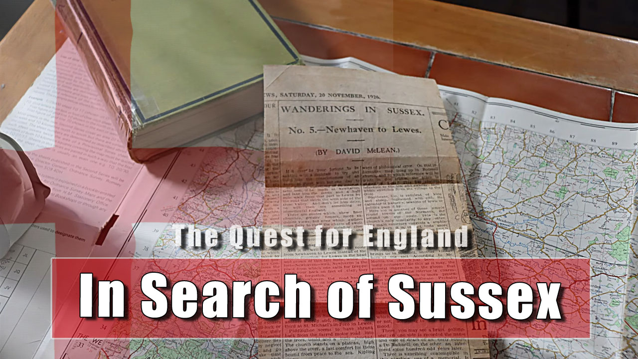 The Quest For England - In Which I Outline a Project to do During This Phase of Lockdown