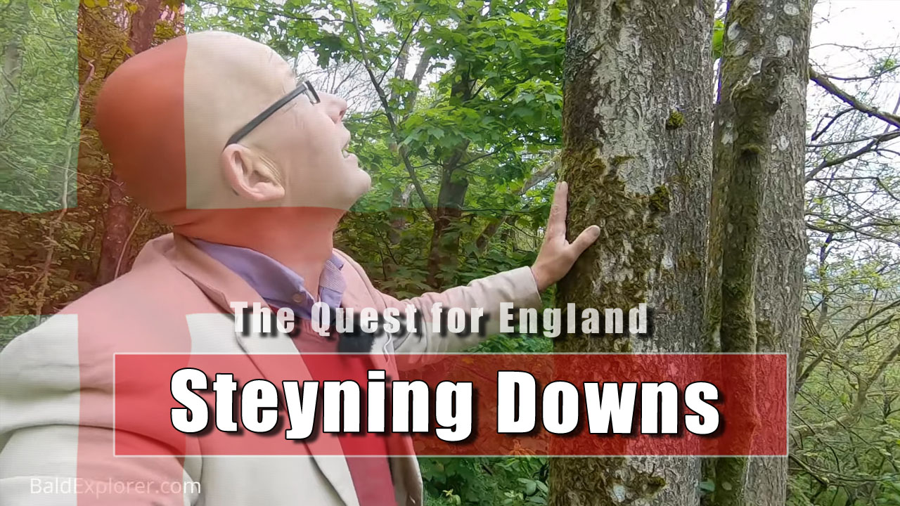 The Quest For England - In Which I Clamber the Steyning Downland