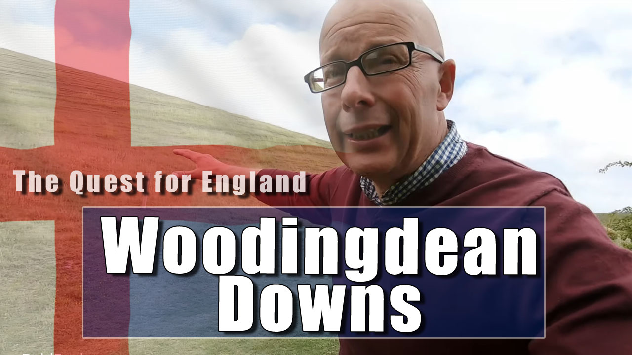 The Quest For England - In Which I Explore The Sussex Downs near Woodingdean