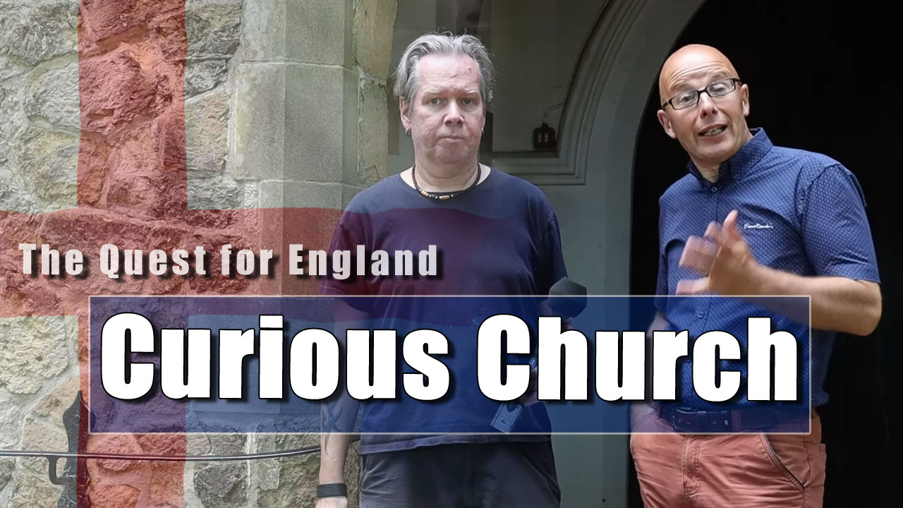 The Quest For England - In Which Marq English and I visit Deaninghamton Church
