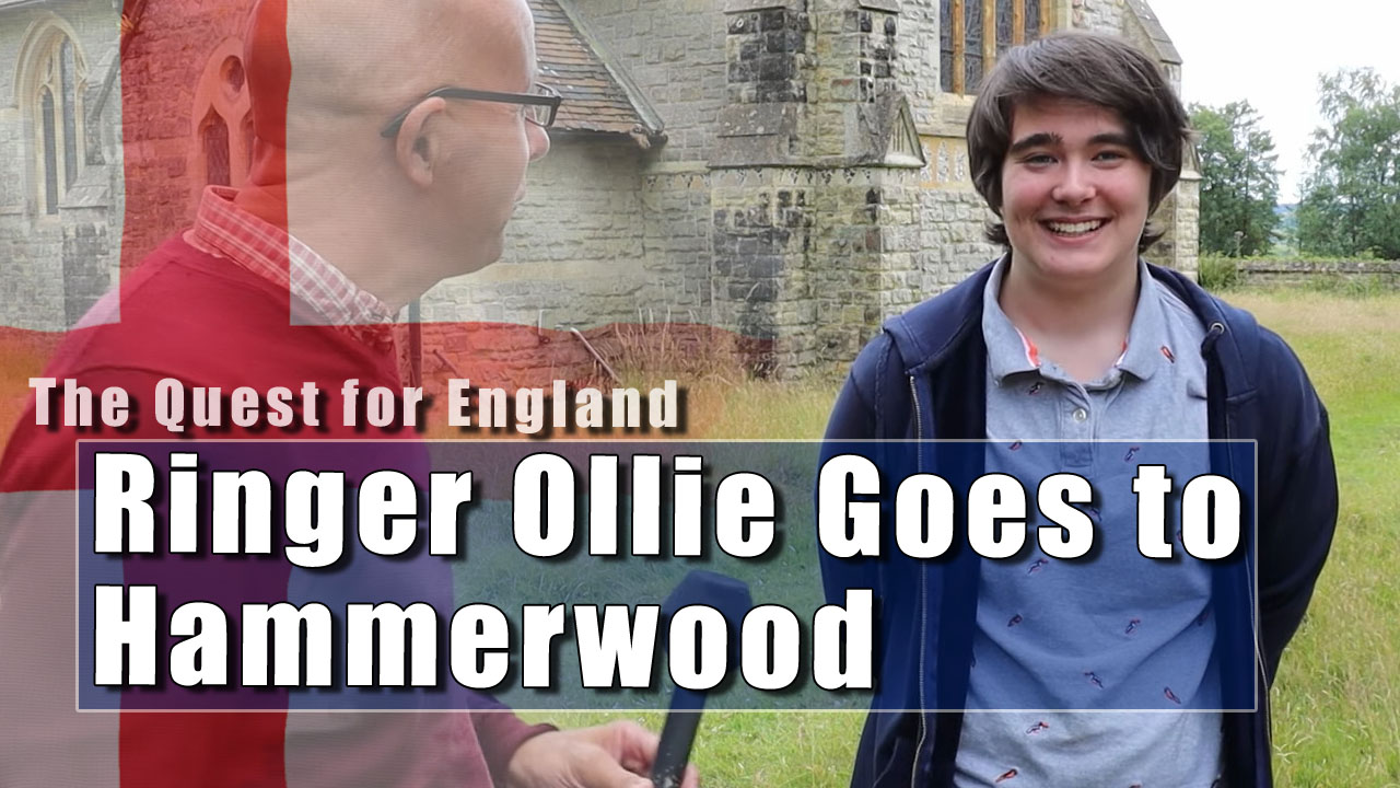 The Quest For England in Which I Explorer Hammerwood Church with Ringer Ollie