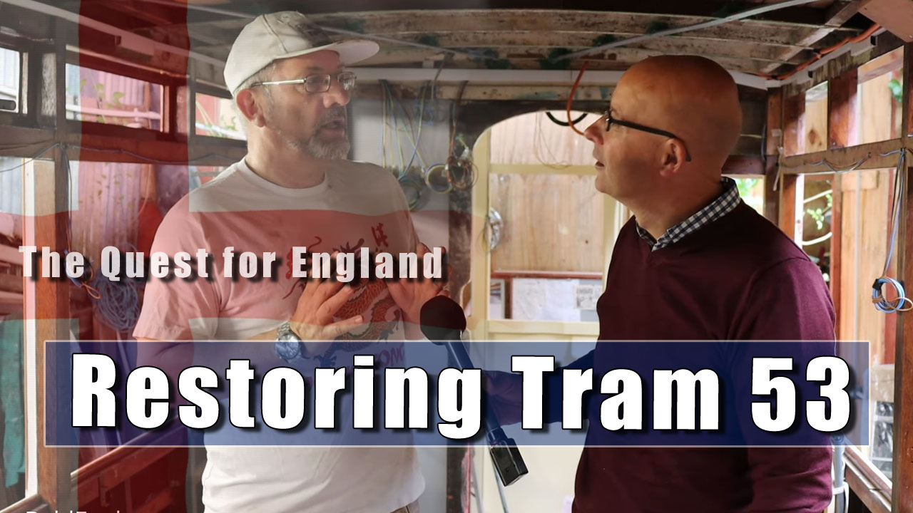 The Quest For England - In Which I explore One of Brighton's Last Trams