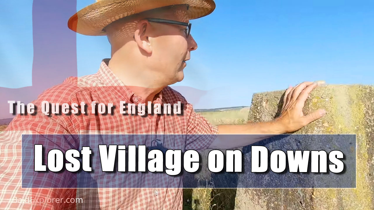 The Quest For England - To Balmer Medieval Village on a Hot Day (part two)