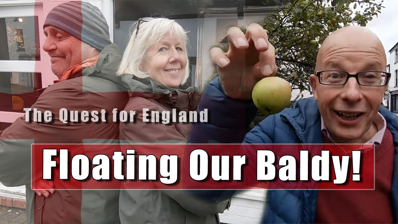 The Quest For England - In Which I Meet Up With Fran and Rich in Brewood in Staffordshire