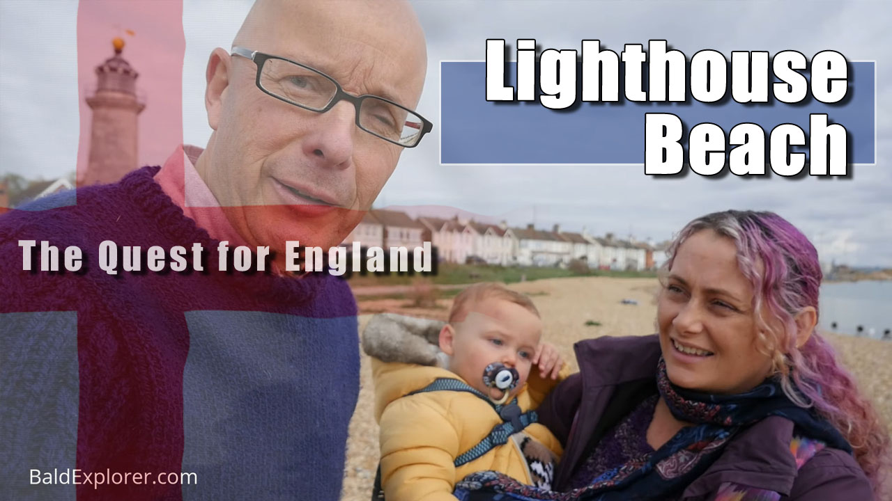 The Quest For England - In Which Julia and I explore Lighthouse Beach