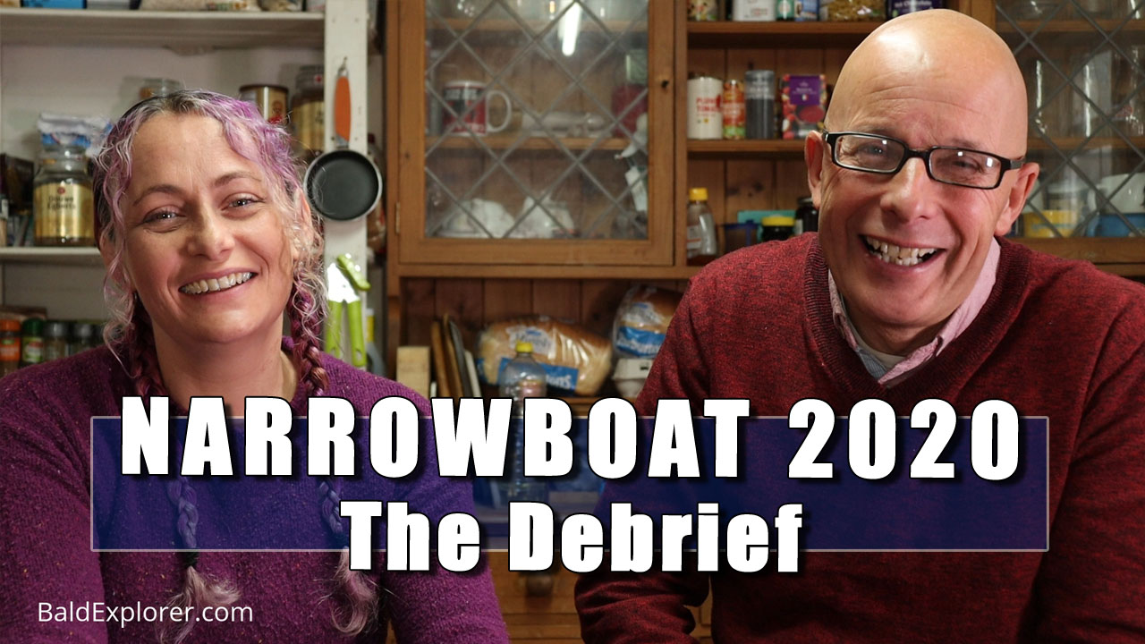 Narrowboat 2020 - In Which Julia and I Discuss the Recent Trip on the Canal