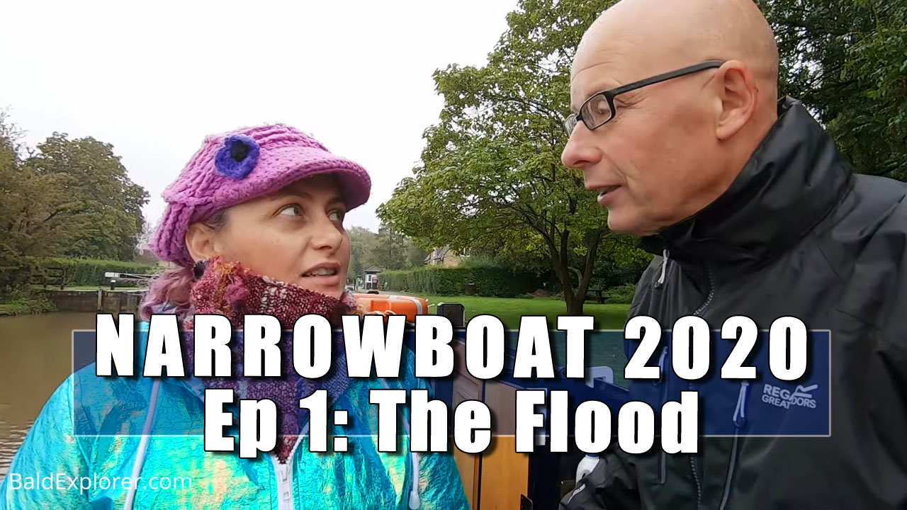 Narrowboat 2020 - Julia and I Begin Our Narrowboat Trip on the Thames